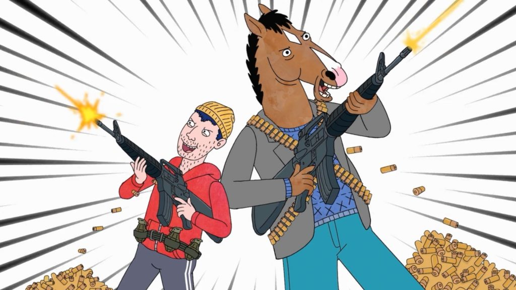 BoJack Horseman Full HD Wallpaper