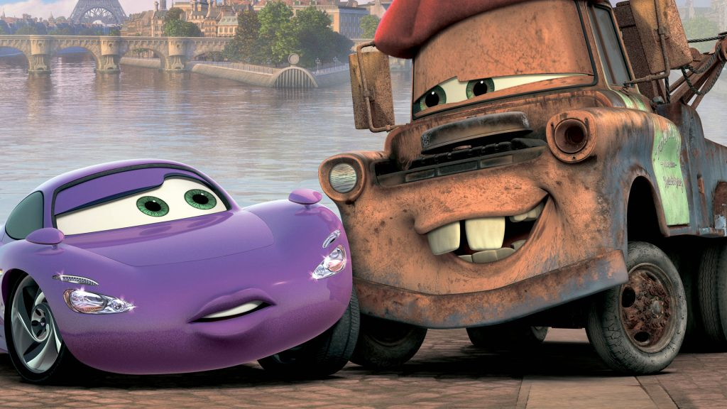 Cars 2 Full HD Background