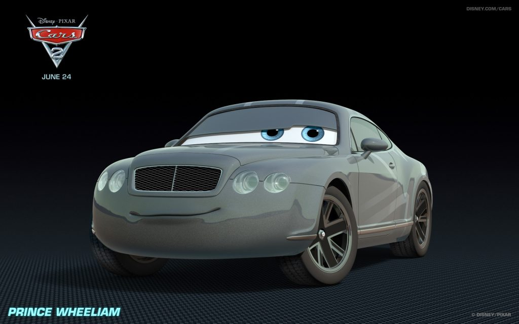 Cars 2 Widescreen Background