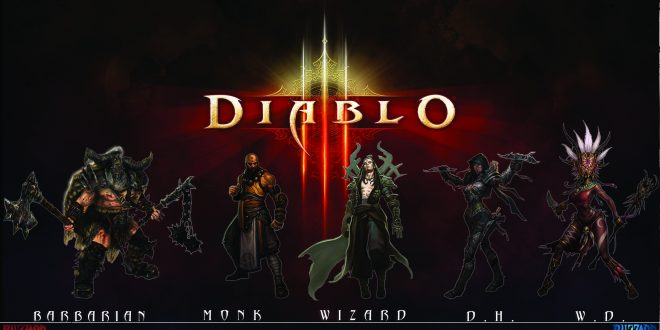Diablo III HD Backgrounds