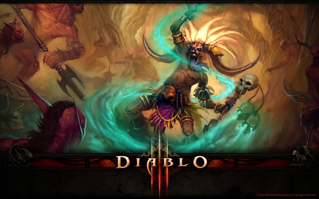 Diablo III HD Widescreen Wallpaper