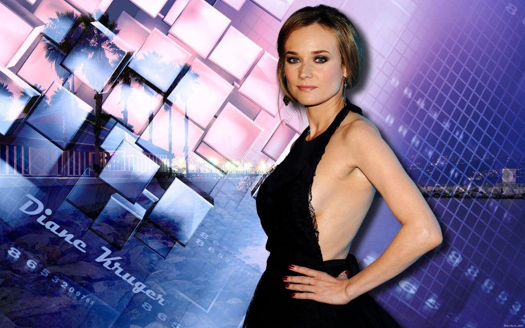 Diane Kruger HD Widescreen Wallpaper
