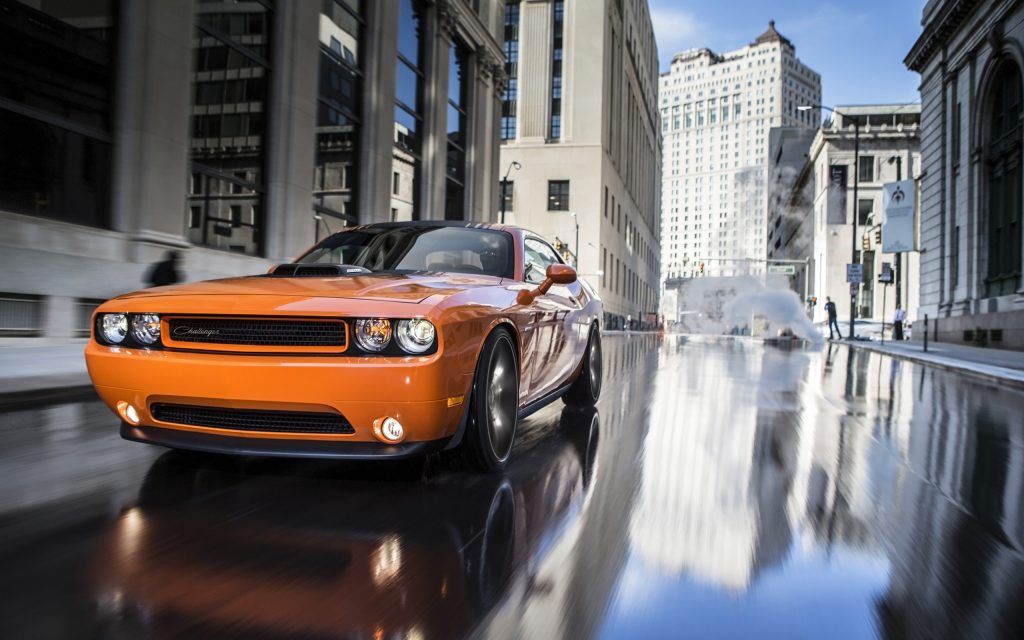 Dodge Challenger RT Widescreen Wallpaper