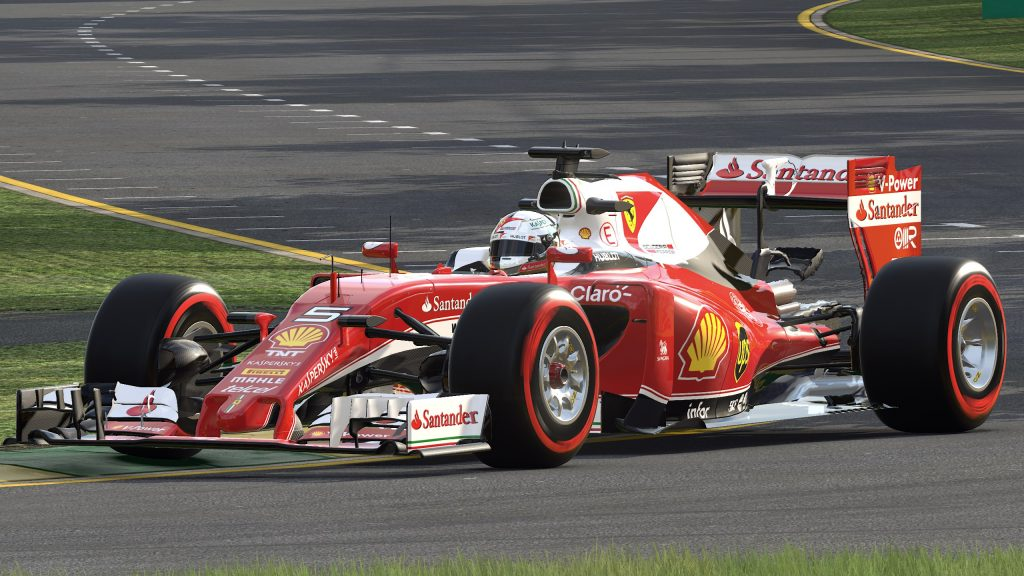 F1 2016 Quad HD Wallpaper