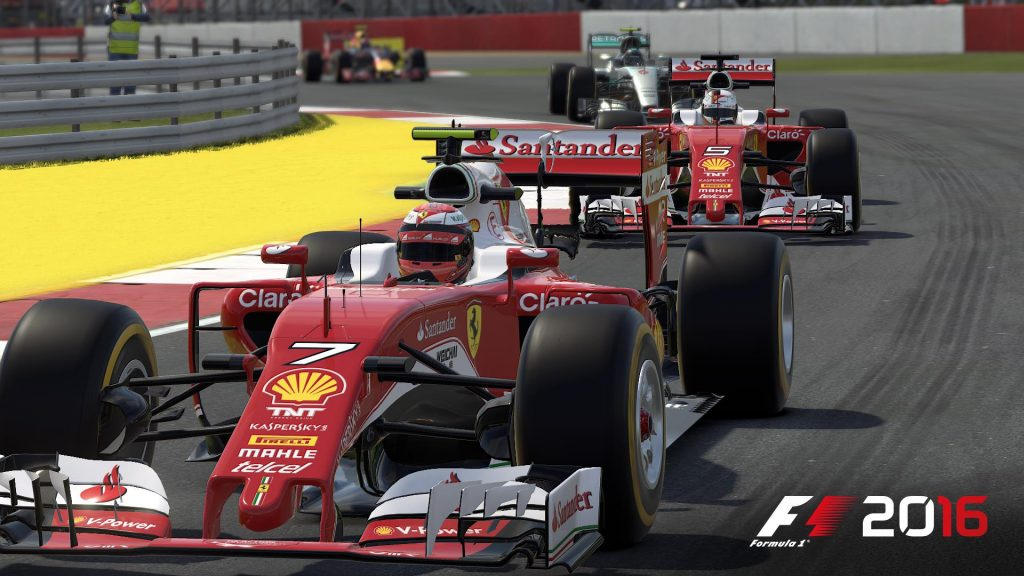 F1 2016 Full HD Wallpaper