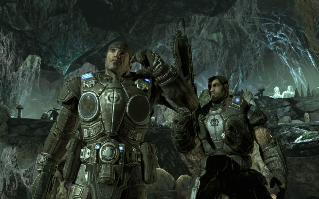 Gears Of War 2 Widescreen Wallpaper