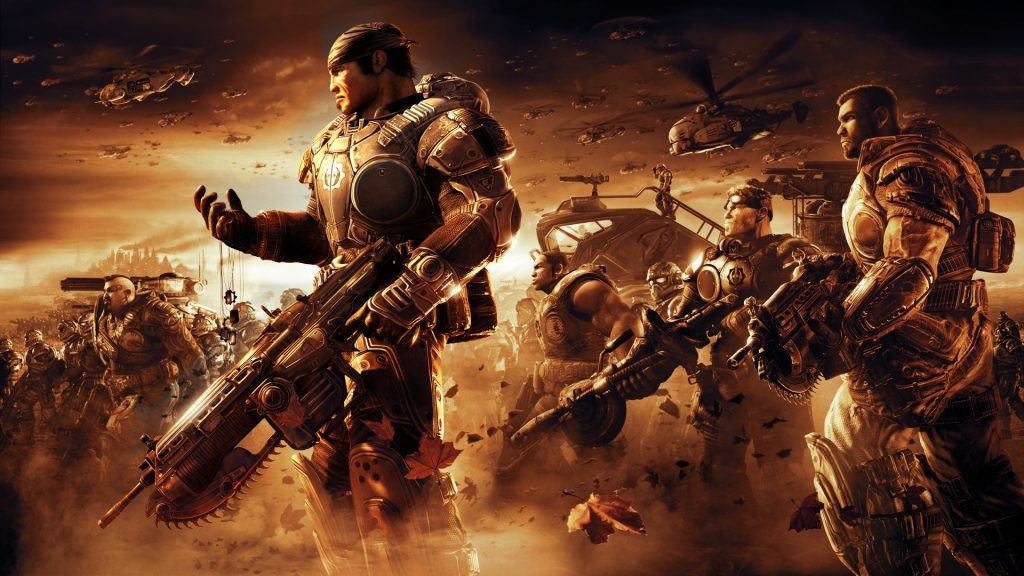 Gears Of War 2 Full HD Wallpaper