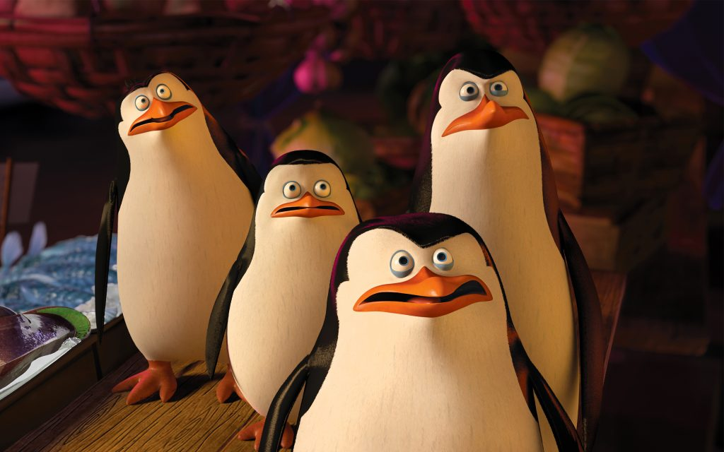 Penguins Of Madagascar Widescreen Wallpaper
