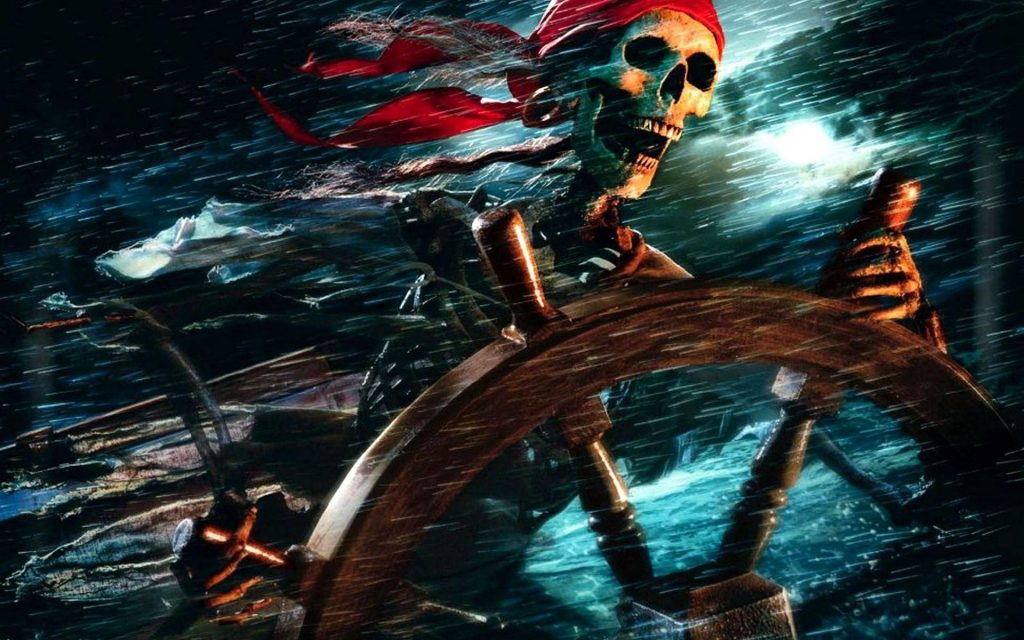 Pirates Of The Caribbean: The Curse Of The Black Pearl Widescreen Wallpaper