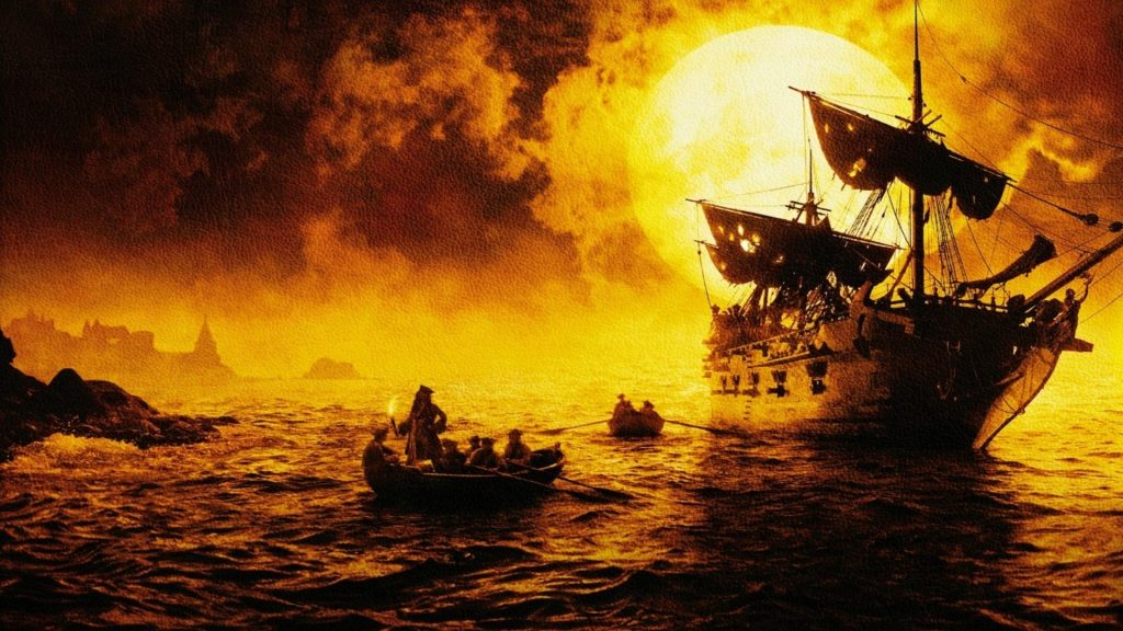 Pirates Of The Caribbean: The Curse Of The Black Pearl Full HD Wallpaper