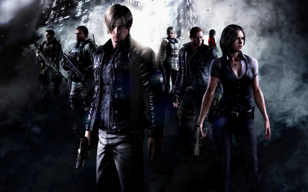 Resident Evil 6 Widescreen Wallpaper