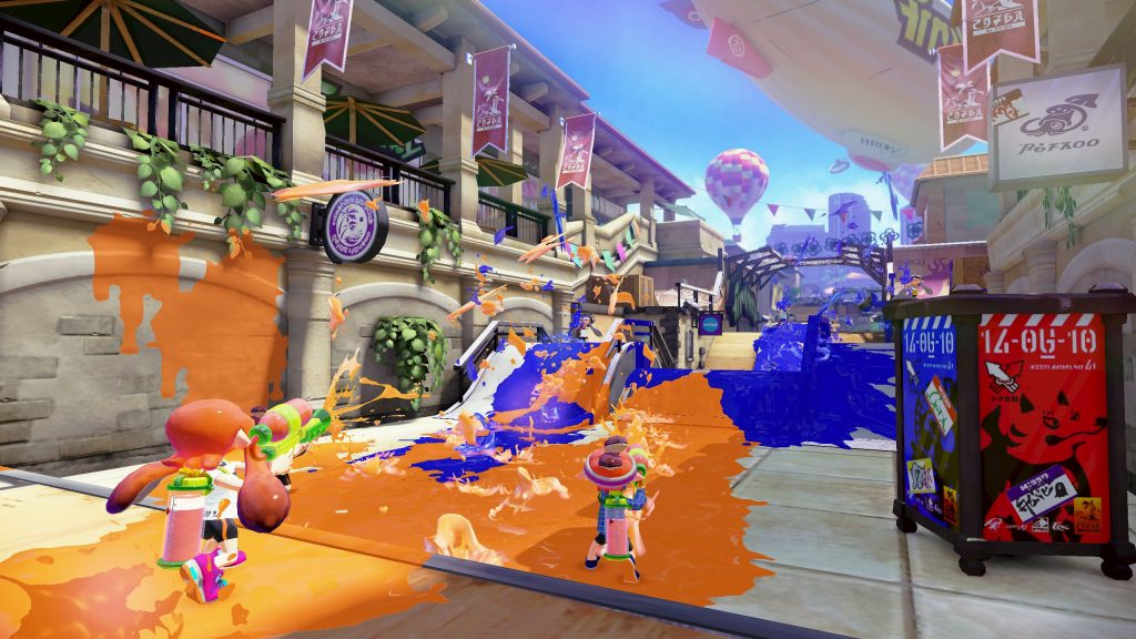 Splatoon Quad HD Background