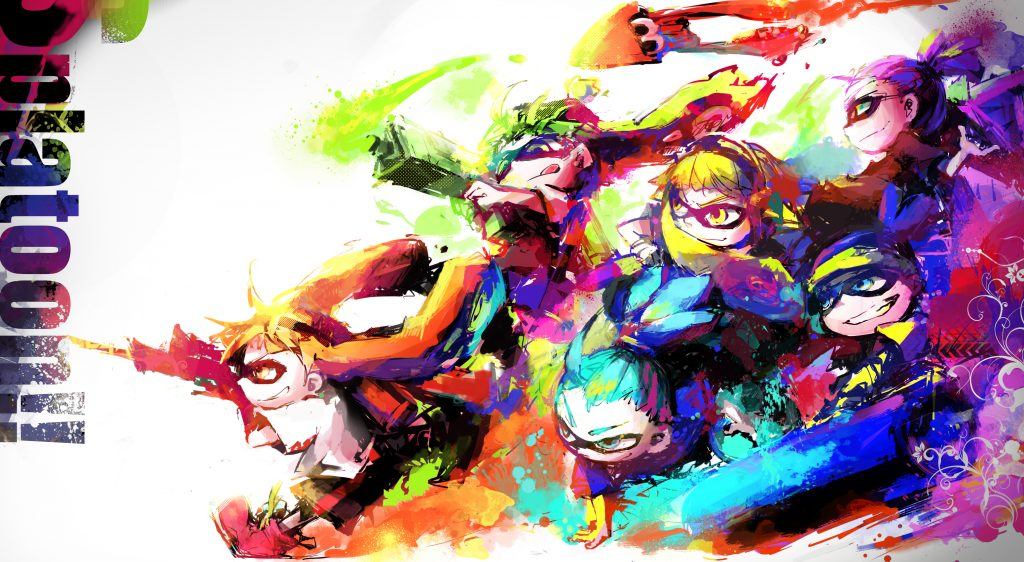 Splatoon Background