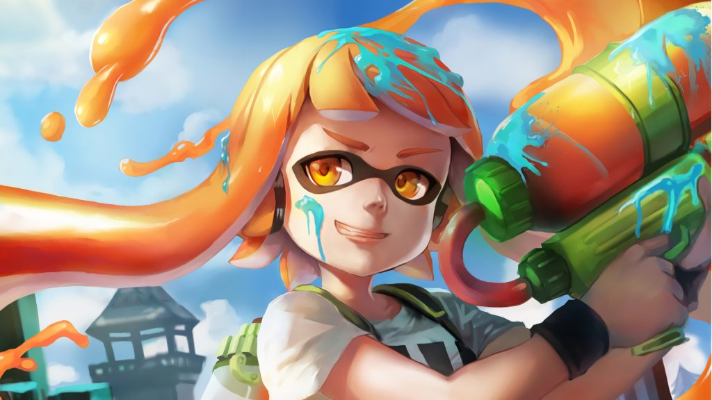Splatoon Full HD Background