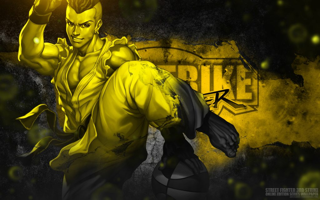 Street Fighter Widescreen Background