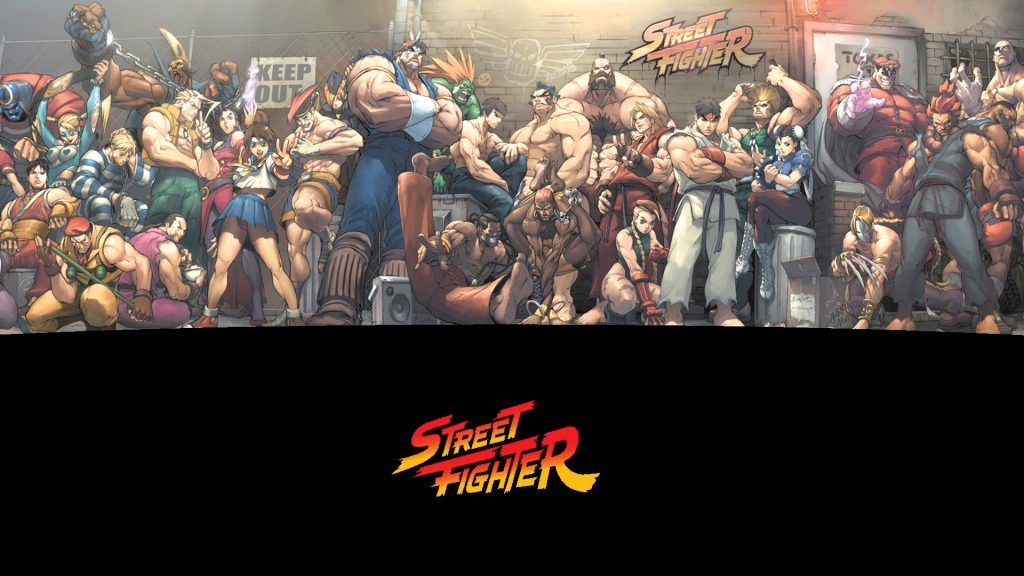 Street Fighter Full HD Background