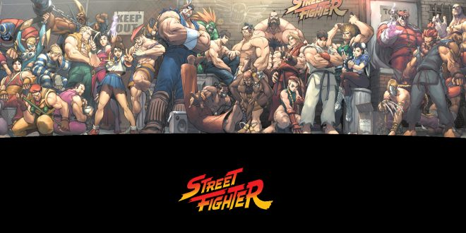 Street Fighter Backgrounds