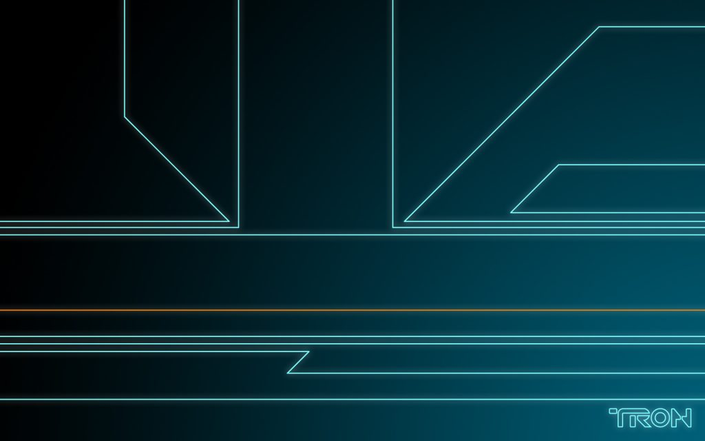 Tron HD Widescreen Wallpaper