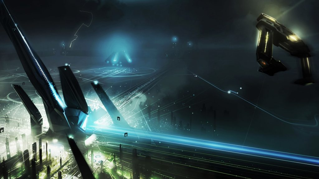 TRON: Legacy Full HD Background