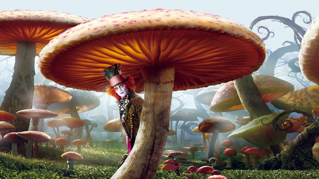 Alice In Wonderland (2010) Full HD Background