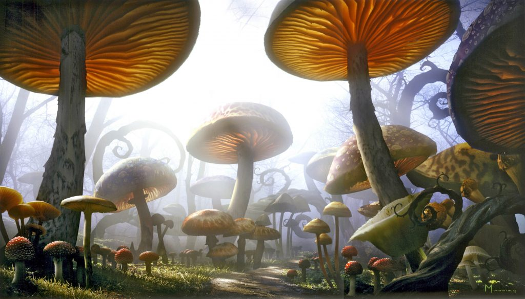 Alice In Wonderland (2010) Background