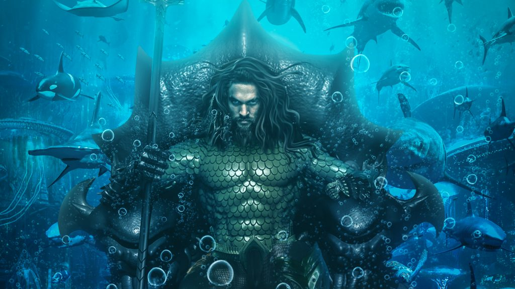 Aquaman Quad HD Wallpaper