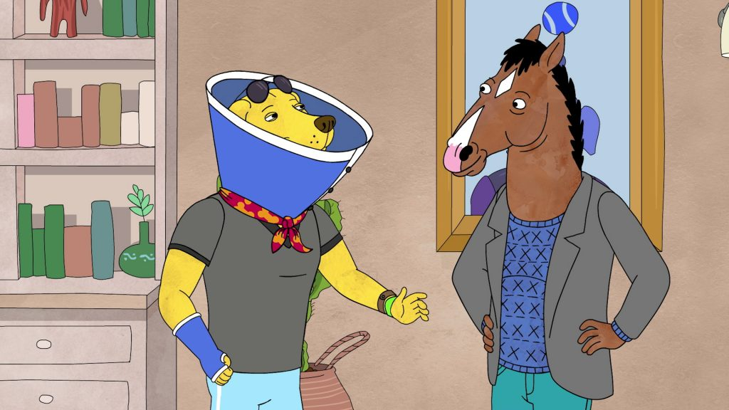 BoJack Horseman Full HD Background
