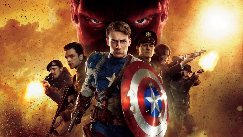 Captain America: The First Avenger Full HD Wallpaper