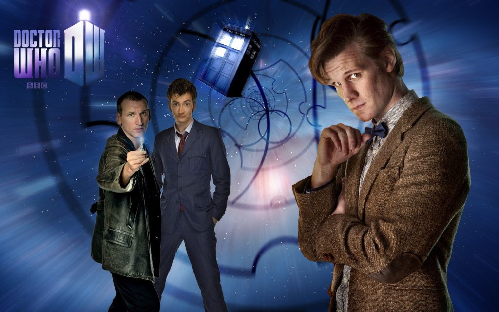 Doctor Who HD Widescreen Background