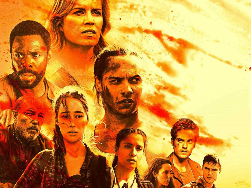 Fear The Walking Dead HD Background