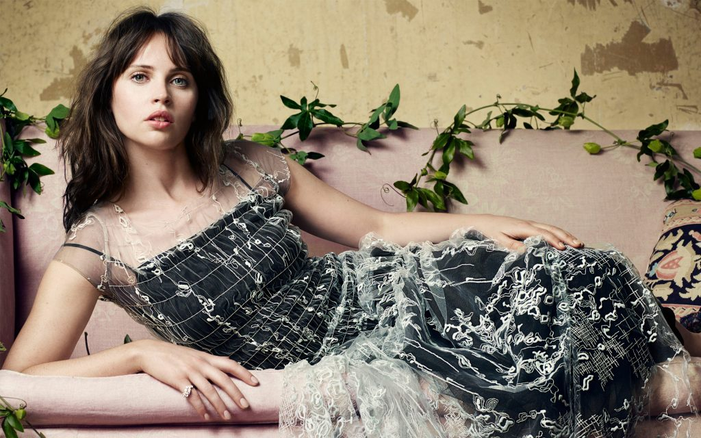 Felicity Jones Widescreen Wallpaper
