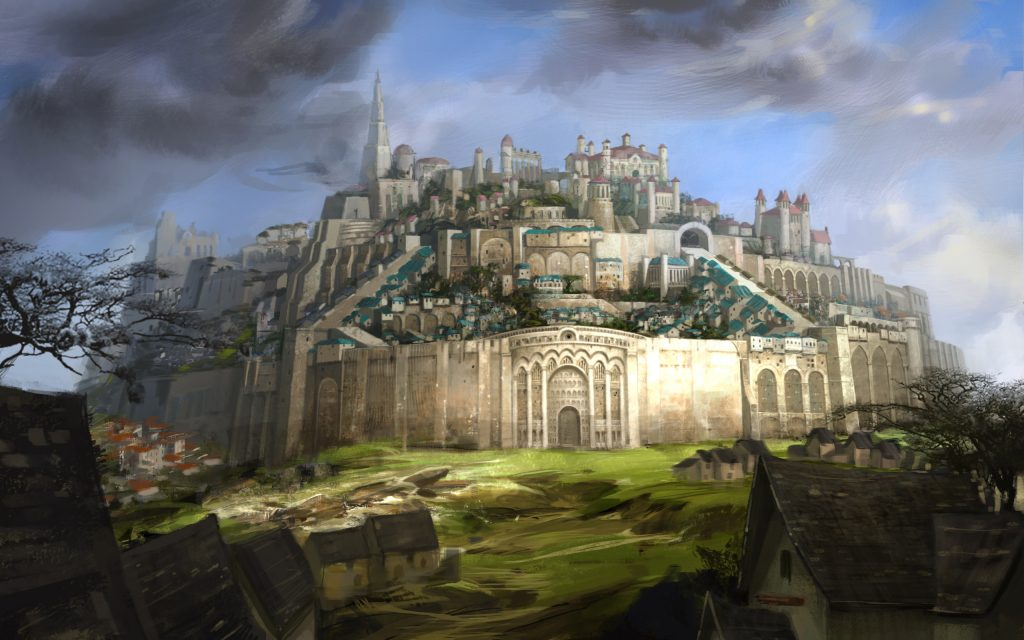 Guild Wars 2 Widescreen Background
