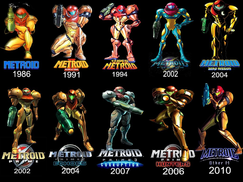 Metroid Wallpaper