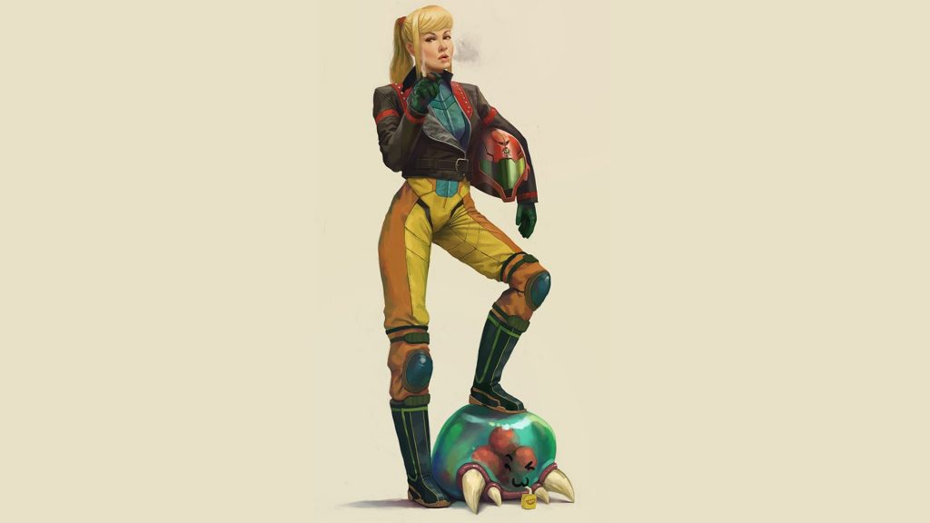 Metroid Full HD Wallpaper