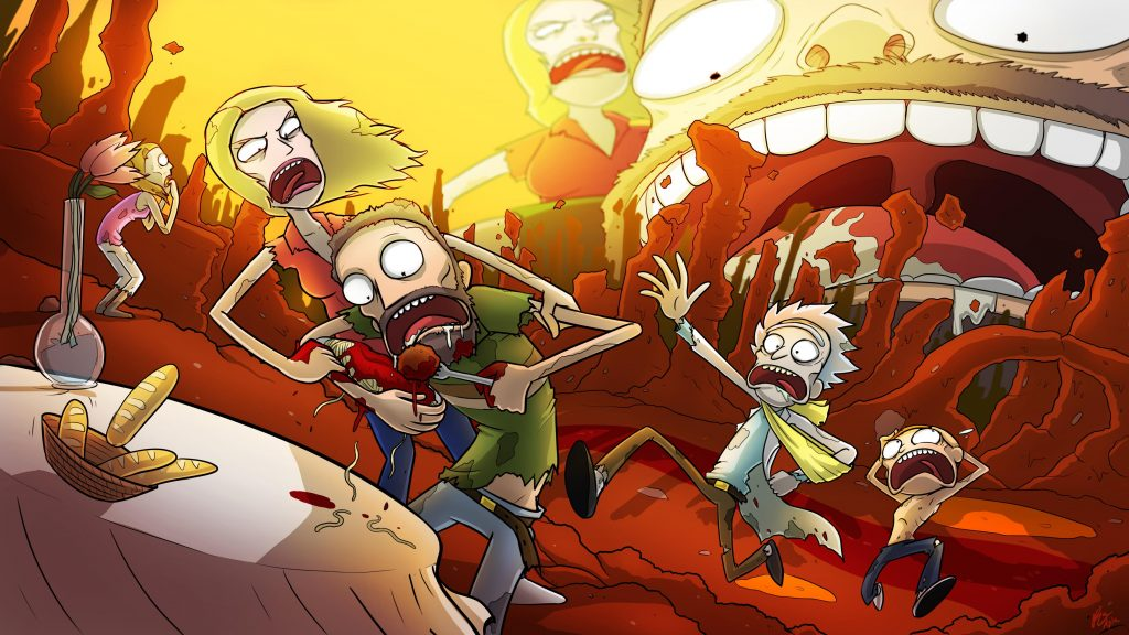 Rick And Morty HD Background