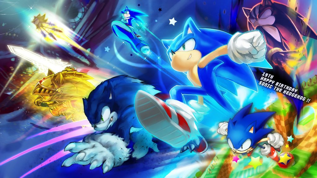 Sonic The Hedgehog HD Full HD Wallpaper