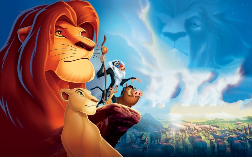 The Lion King Widescreen Background