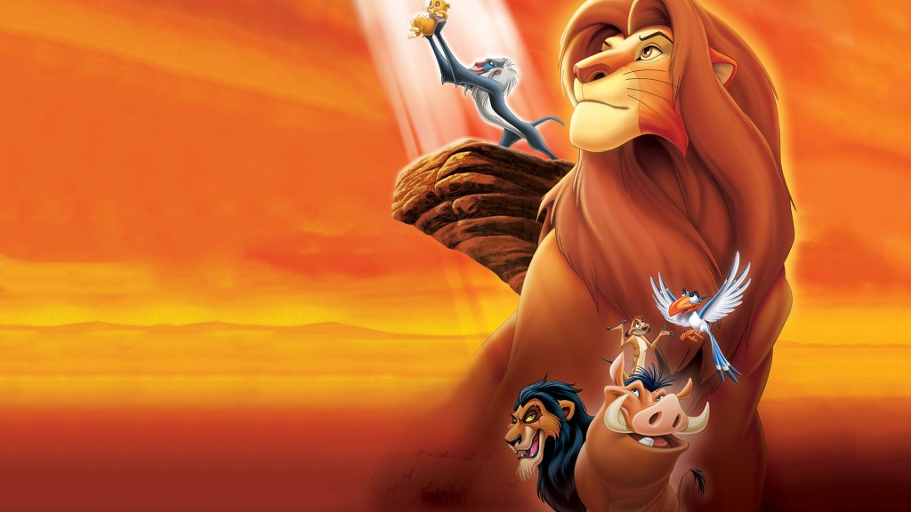 The Lion King Full HD Background