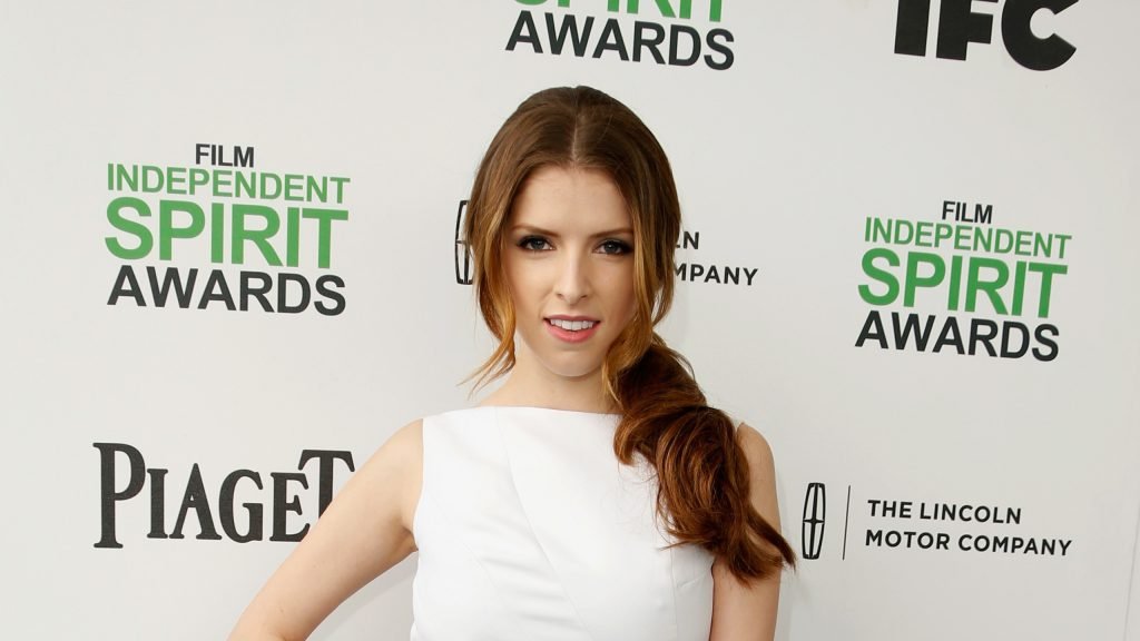 Anna Kendrick Quad HD Background
