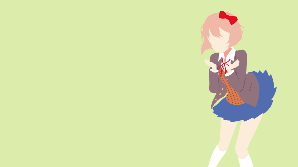 Doki Doki Literature Club! Quad HD Wallpaper