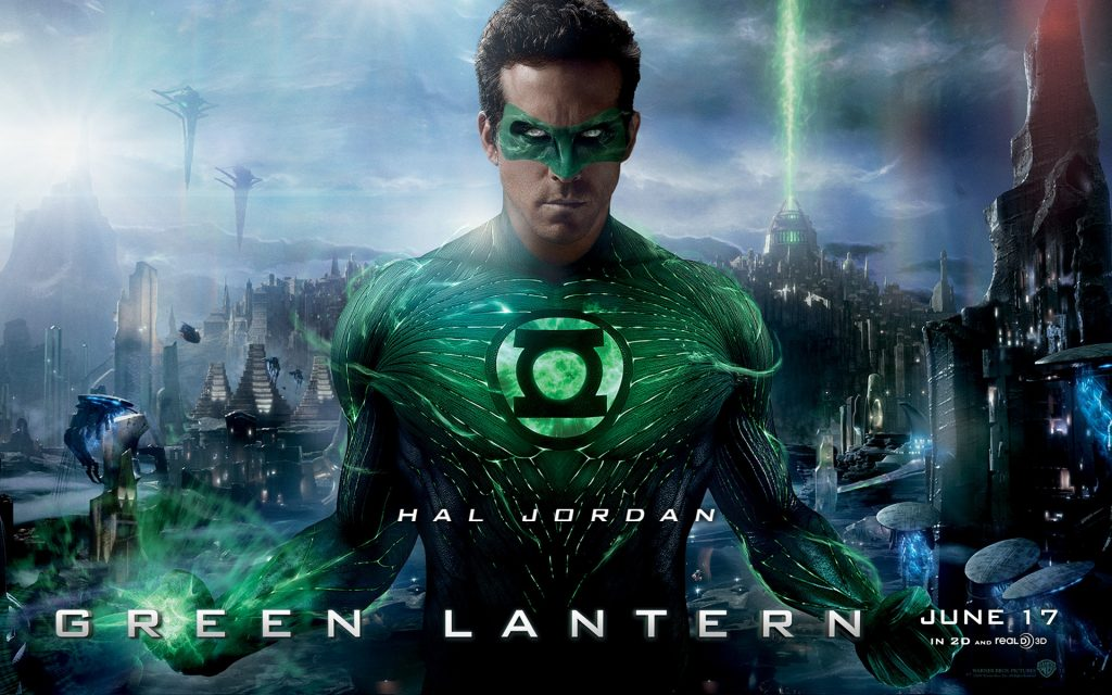 Green Lantern Widescreen Wallpaper