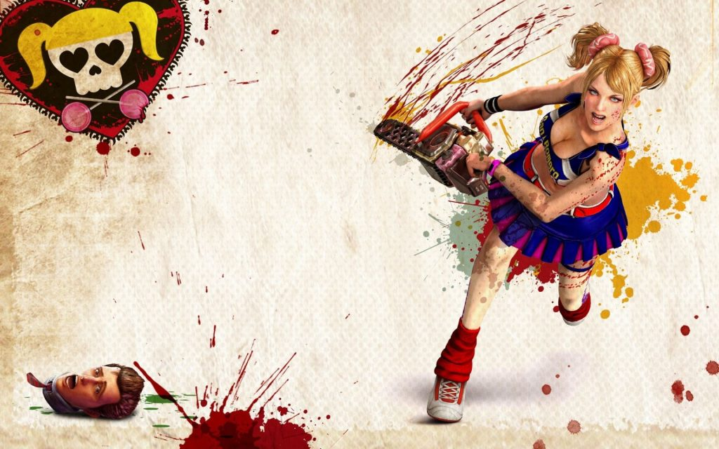 Lollipop Chainsaw Widescreen Wallpaper