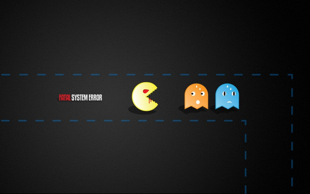 Pac-Man Widescreen Background