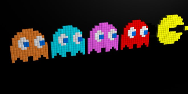 Pac-Man Backgrounds