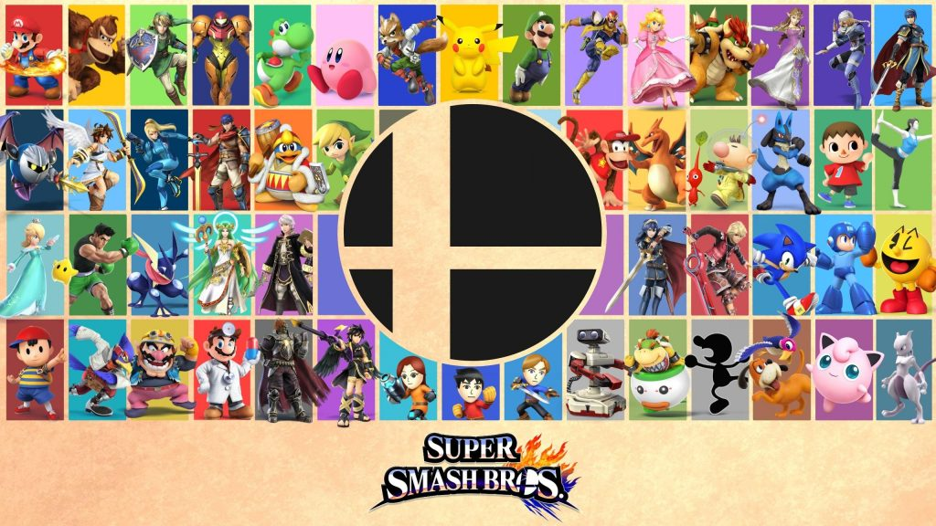 Super Smash Bros. Quad HD Background