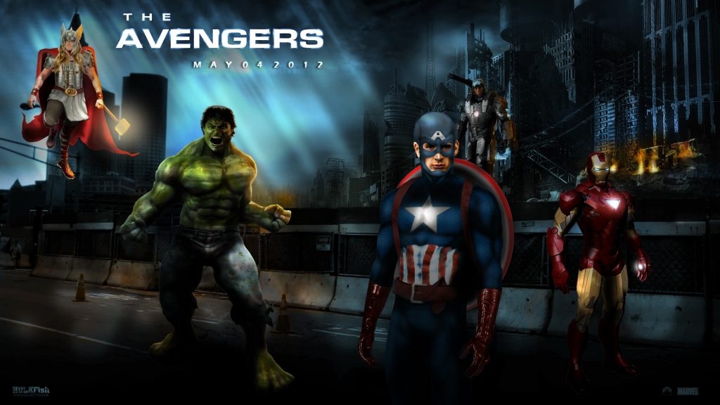 The Avengers HD Full HD Wallpaper