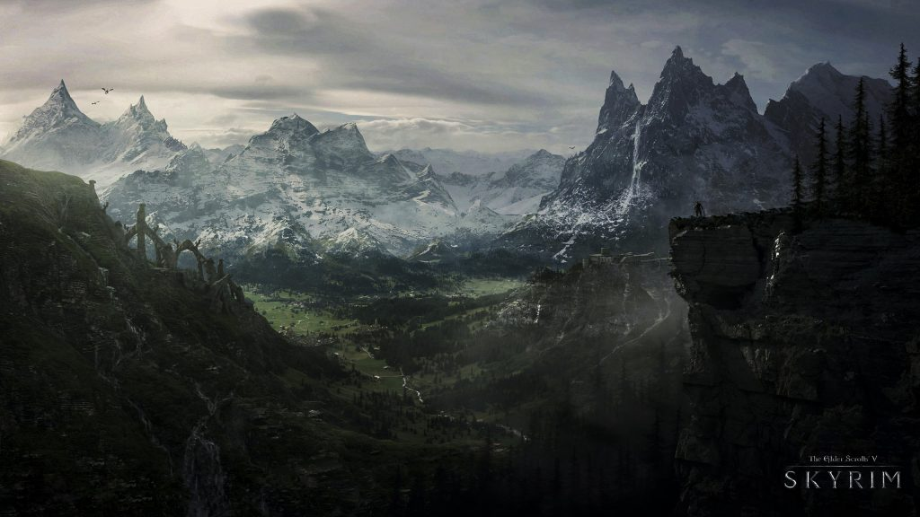 The Elder Scrolls V: Skyrim Quad HD Wallpaper