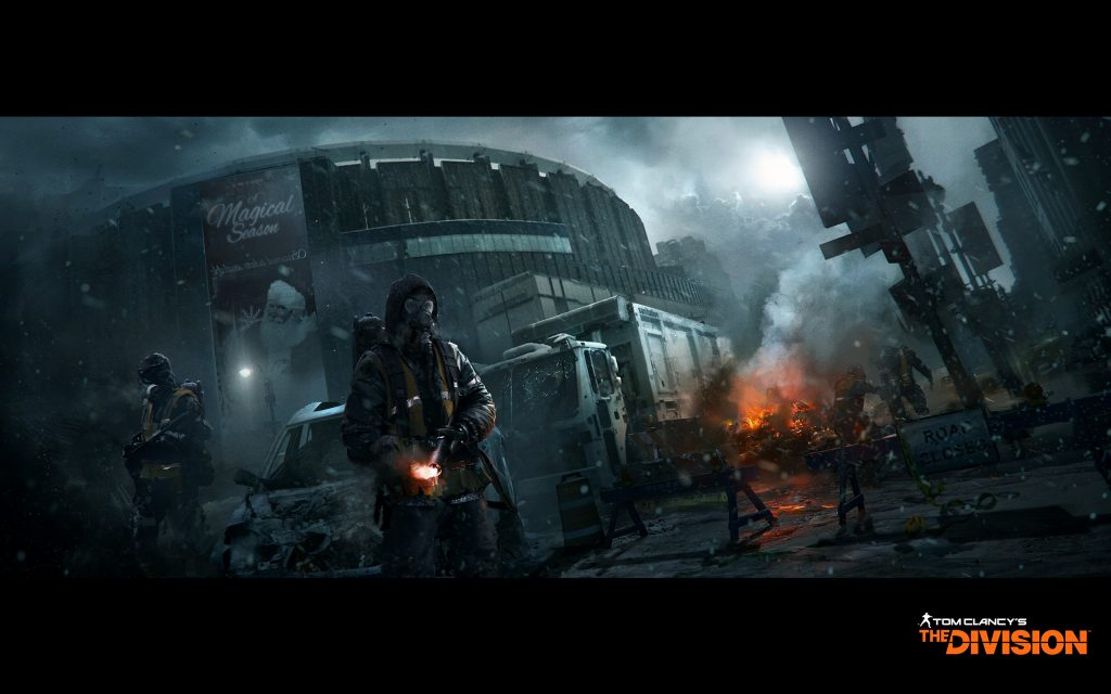 Tom Clancy's The Division Widescreen Background