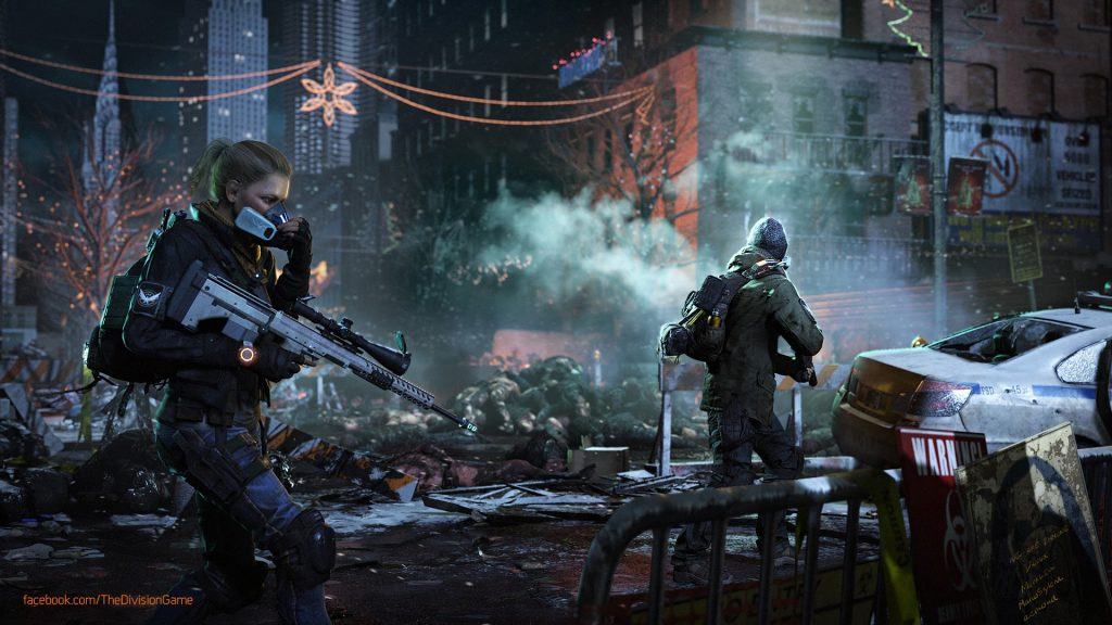 Tom Clancy's The Division Full HD Background