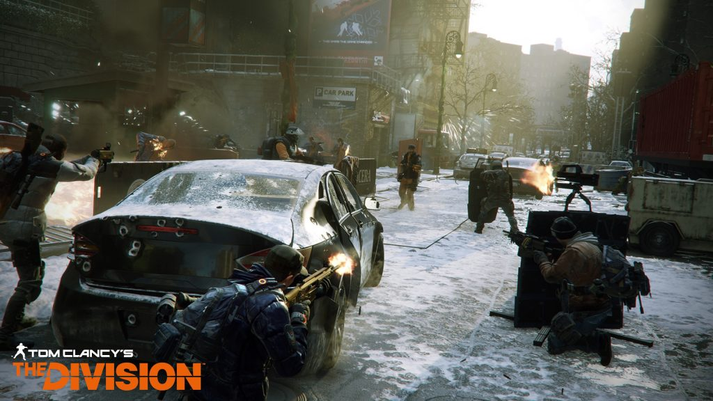 Tom Clancy's The Division Quad HD Background